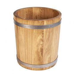 Кадка дубовая для цветов 5 литров